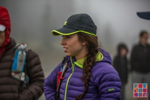 Trying to stay warm at the start. Photo credit to Brian McCurdy