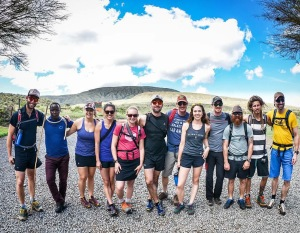 The safari dream team! Photo credit and fish eye view courtesy of Adam Ciuk